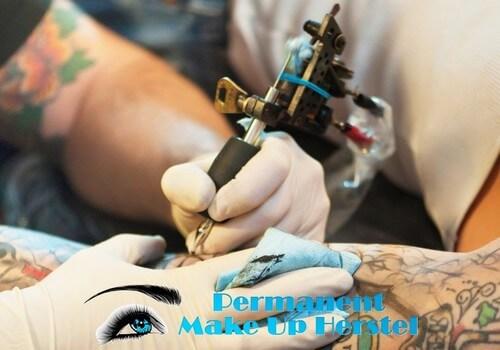 Tattoo machine handstuk